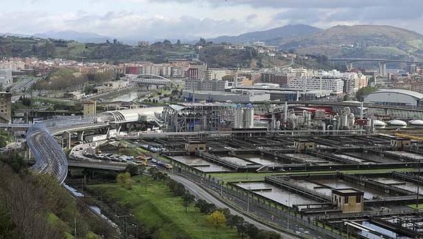 Depuradora de Aguas de Bilbao