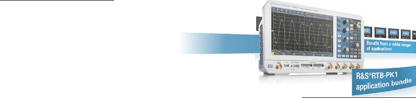 Ahorre un 50% en los paquetes de aplicaciones de R&S RTB2000