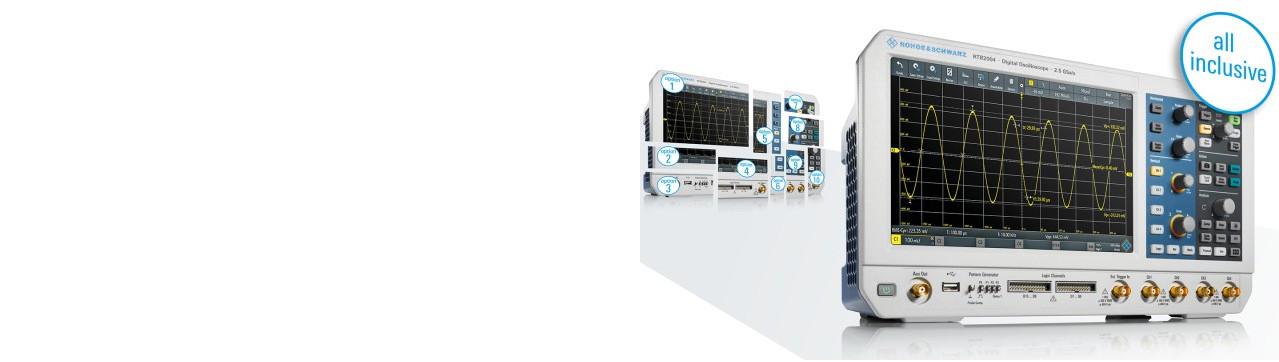 ¡Equipe su osciloscopio al mejor precio, sin compras adicionales!